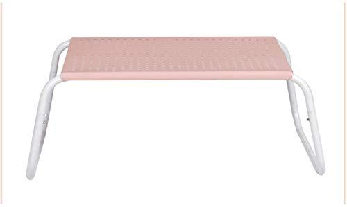 LHY- Schreibtischbett Kleine Tabelle Einfache Studie Schreibtisch Brett Laptop Tisch 45 * 35 * 23cm rutschfest (Color :...