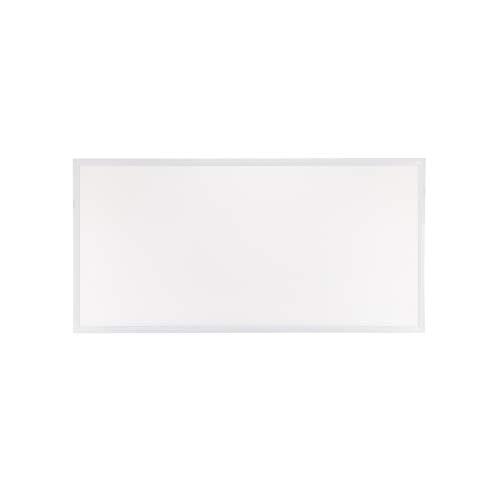 POPP® Panel LED PRO con lente PMMA, 220V, 4000-6000Lm, IP20, Blanco, 60x60cm, 30x120cm,60x120cm (60x120cm 60W 6000Lm, 4000K)