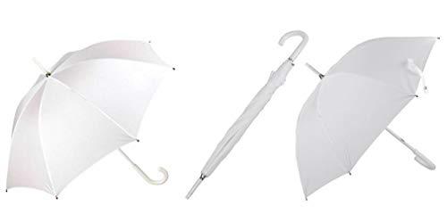 PERLETTI 12012 Matrimonio Wedding Day - Ombrello da Sposa Bianco