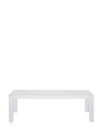 Kartell INVISIBLE SIDE Table, Blanc, 120 x 40 x 40 cm