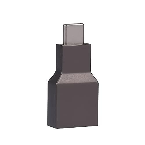 Fesjoy Adaptateur de type C, Adaptador tipo C a HD Convertidor USB-C Plug & Play 4K @ 30hz para teléfono móvil portátil