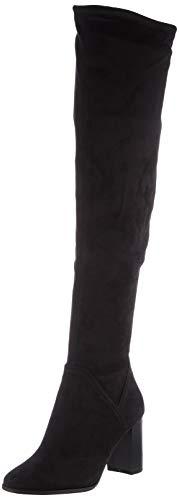 Tamaris Damen 1-1-25554-25 Kniehohe Stiefel, schwarz, 37 EU