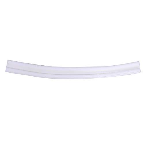 YFCTLM Tira de Sello Puerta Flexible Fondo de Sellado Franja A Prueba de Sonido Reducción de Ruido Debajo de la Puerta Tapón Dibujo Polvo a Prueba de la Ventana Tira del Tiempo (Color : White)