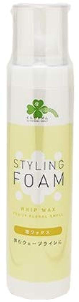 グロー記憶に残るアンソロジーくらしリズム スタイリングフォーム 泡ワックス フルーティフローラルの香り (165g) スタイリング剤