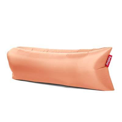 lamzac Fatboy 2.0 Luftsofa Peach Jelly | Aufblasbares Sofa/Liege in Rosa, Sitzsack mit Luft gefüllt | Outdoor geeignet | 200 x 90 x 50 cm