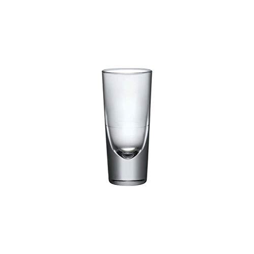 Bormioli Rocco 156739F Bistro Aperitif, 148ml, mit Füllstrich bei 2cl + 4cl, Glas, transparent, 6 Stück