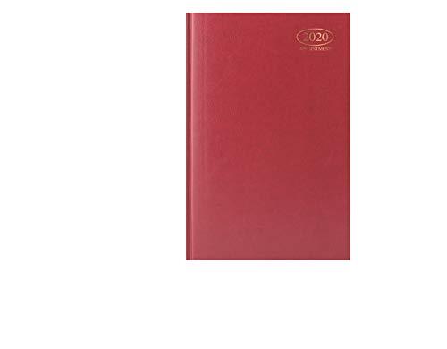Ayush 2020 A5 benoeming dagboek dag een pagina 2020 A5 index dagboek, D 2020 A5 familie organisator Hardback van Ayush Rood