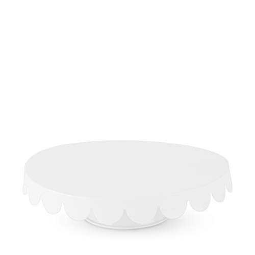 Cakewalk (Party) Stainless Steel Metal Cake Cupcake Stand, Home Decor, Accessory, One Size, White
