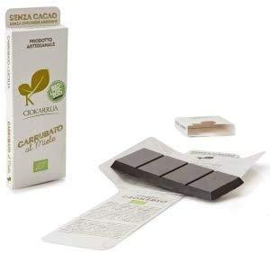チョカッルーア キャロブ カルッバート はちみつ (50g) [イタリア シチリア] | CIOKARRUA 無糖 EUオーガニック認定 | ギフト プレゼント カカオ50% ヴィーガン 板チョコ スイーツ チョコレート