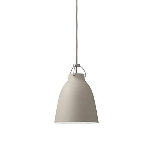 Lámpara suspendida modelo Caravaggio Matt P4, diseñada por Cecilie Manz, iluminación flexible y ajustable, aluminio, 55 x 55 x 70,2 centímetros, color gris (referencia: 14033412)