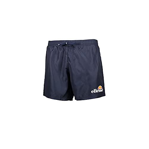 Ellesse Swim Short Herren Badehose Logo, Bermuda, EHM602S21, Blau, EHM602S21 Medium