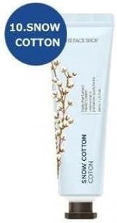 THE FACE SHOP Daily Perfume Hand Cream [10. Snow Cotton] ザフェイスショップ デイリーパフュームハンドクリーム [10.スノーコットン] [new] [並行輸入品]