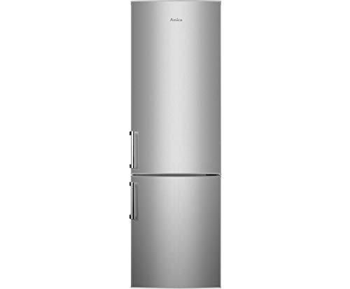 Amica KGC388100E Kühl-/Gefrierkombination -  Edelstahl-Optik, 55er Breite, 180 cm Höhe, automatische Abtauung, [Energieeffizienzklasse A+++]