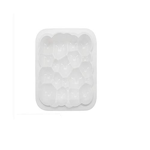 LKHF Molde de silicona para hornear DIY en forma de nube, molde de torta de mousse cortadores de galletas para decorar tartas accesorios de cocina