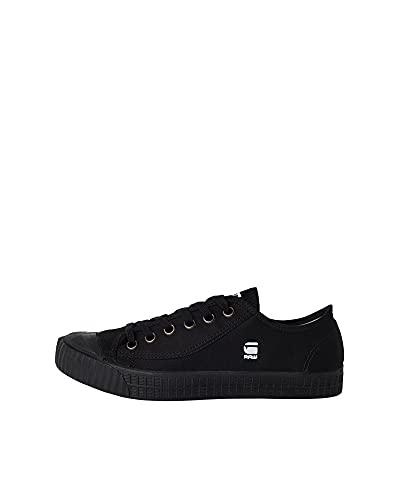 G-STAR RAW Damen Rovulc Denim Low Sneakers Sneaker, Schwarz (Black 990), 41 EU