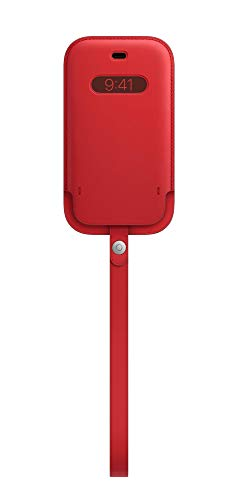 Apple Funda Integral de Piel conMagSafe (para el iPhone 12 Mini) - (Product) Red