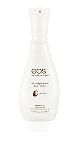eos Body Lotion Vanilla Orchid, Hautpflege für normale & trockene Haut, feuchtigkeitsspendende Bodylotion mit Avocado-Öl, ohne Parabene, 1 x 350 ml