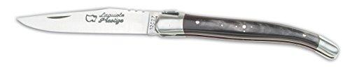 Au sabot Taschenmesser Laguiole Prestige, Horn, Rostfrei, 12 cm