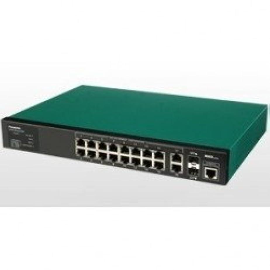 測る些細エクスタシーパナソニックESネットワークス PoE Plus対応 18ポートL2スイッチングハブ Switch-M16eGLPWR+ PN28168