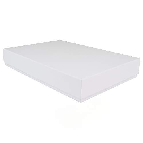 A4Luxus starr Präsentation Stationery Geschenk-Box weiß