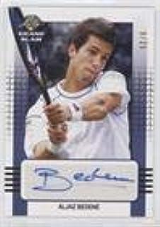 Aljaz Bedene #/25 (Trading Card) 2018 Leaf Grand Slam - [Base] - Blue #BA-AB1