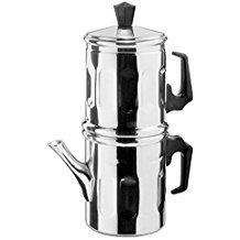 Cafetera Moka Napoletana Ilsa de aluminio 99,5%