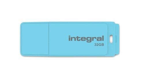 Integral Memory INFD8GBPASLH geheugenkaart lavendelkleuren 32GB hemelsblauw