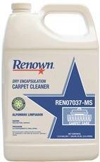 Renown REN07037-M Dry Encapsulation Carpet Cleaner, 1 Gallon, 4 PER CASE (4 GL PER CASE)