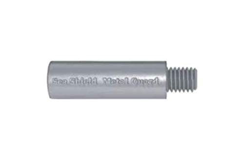 Sea Shield Marine E-1 Pencil Zinc 1/2″x 2″ Without Brass Plug (E-1)