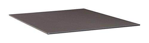 KETTLER Advantage Esstische Kettalux Plus Tischplatte 95 x 95 cm Schieferoptik, schwarz