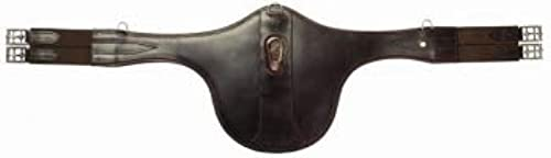 Mountain Horse Saddle Girth with Stud Guard, noir, 130 cm