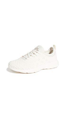 APL: Athletic Propulsion Labs Women's Techloom Phantom Sneakers, Sea Salt/Rose Dust, Off White, 5 Medium US