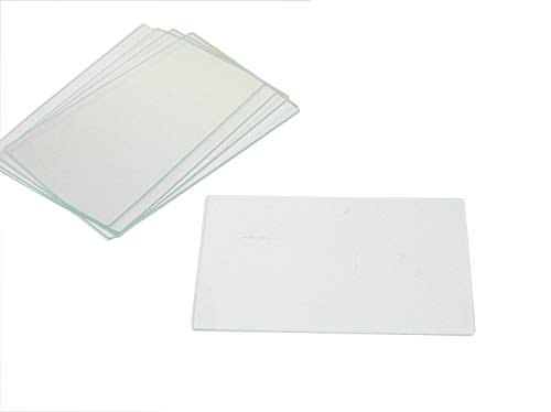 Premiere CA6101 Bx/72 Premeire Large Glass Microscope Slides, Ground Edges, 3' x 2', 1 mm Thick
