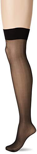 Wolford Damen Halterlose Strümpfe & Socken (LW) Individual 10 Stocking, 10 DEN,black,Small (S)