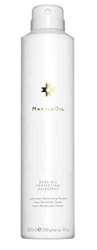 Paul Mitchell MarulaOil Rare Oil Perfecting Hairspray - pflegendes Haar-Spray mit reichhaltigen Nährstoffen, Profi Glanz-Spray ideal für alle Haar-Typen - 300 ml