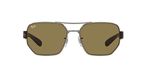 Ray-Ban 0RB3672 Gafas, Gunmetal, 60 Unisex Adulto