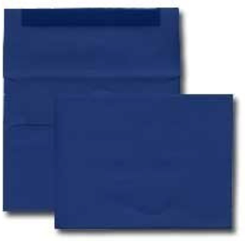 A7 Invitation Envelope - 70  Blau Basis Text (5 1 4 x 7 1 4) - Basis Announcement Series (Box of 250) by Office Express B018OR95HY | Bekannt für seine schöne Qualität