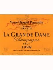VEUVE CLICQUOT PONSARDIN La Grande Dame 1998, Champagne