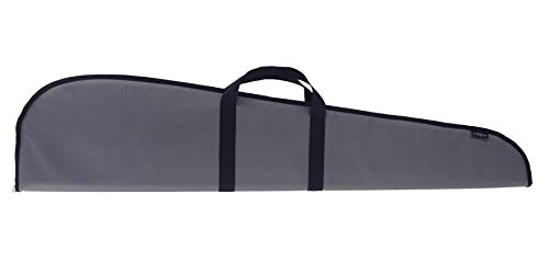 Evolution Outdoor 44349 Mesquite Series Polyester Rifle Case – 48 in., Grey, Hunting Gun Holder with Foam Padding, Webbing Straps