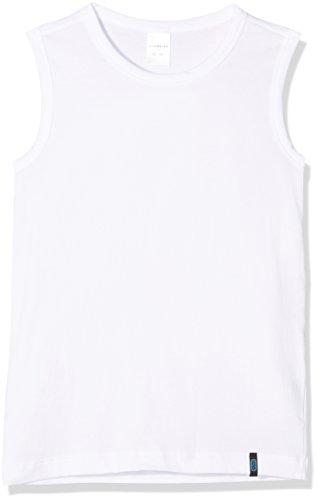 Schiesser Jungen 95/5 Shirt 0/0 Unterhemd, Weiß (Weiss 100), 164 (Herstellergröße: M)
