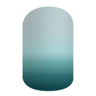 Naya - Jamberry Nail Wraps - HALF Sheet - Light Blue Teal Ombre - It Girls Collection
