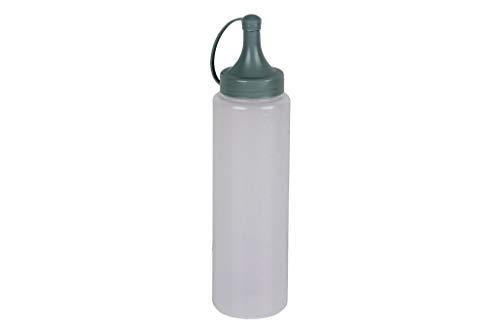 Bouteille d'huile 250 ml Mod. Basilic Couleur vert eau