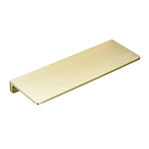 ZTBH Estantes de baño Estante de baño, Estante de Ducha de baño, Soporte de Almacenamiento de Cocina Negro Organizador de baño (Color : 26CM Brushed Gold)