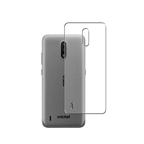 Vaxson 2 Unidades Protector de pantalla Posterior, compatible con Nokia C2 [No Vidrio Templado] TPU Película Protectora Espalda Skin Cover