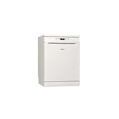 Lave vaisselle Whirlpool WRFC3C26 - Lave vaisselle 60 cm - Classe A++ / 46 decibels - 14 couverts - Blanc bandeau : Blanc - Pose libre