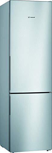 Bosch KGV392LEA Serie 4 nevera independiente/A++ / 201 cm / 237 kWh/año/Inox-look / 248 L / 94 L congelador/LowFrost/VitaFresh