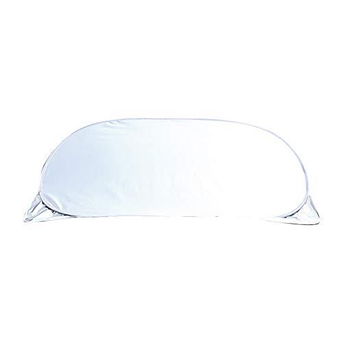 Eillybird zonnescherm met zilvercoating voor de voorruit, multifunctionele zonnebescherming, waterdicht, vorstbescherming en stofbestendigheid, 55,91 cm (38,58 inch). B.