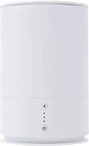 モダンデコ サンライズ 加湿器 上部給水型 超音波加湿器 1.5L コンパクト 静音 省エネ 卓上 (ホワイト)