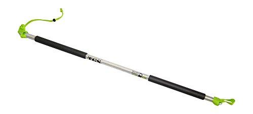 BodyCROSS Premium Rip Trainer Stange | Innovation aus Deutschland - 3-teilig zerlegbar | passt in Jede Sporttasche | hochwertiger Stick aus Alu Vollmaterial | inkl. Sportbeutel | Made in Germany