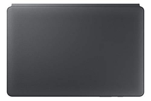 Custodia Samsung Galaxy Tab S6 10.5' Cover con Tastiera QWERTY (Layout Italiano) Grigio Originale